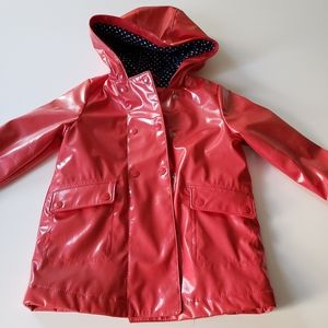 Baby Gap   Girls Red Raincoat size 5